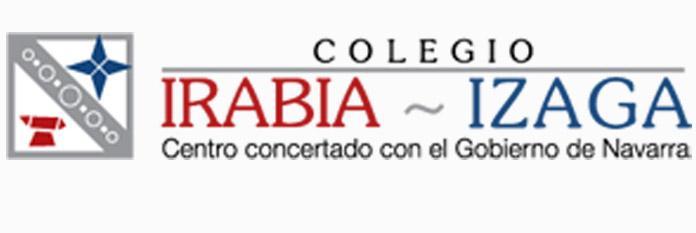 Logo del colegio Irabia Izaga