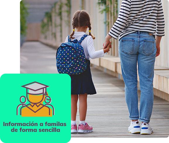 Programa de gestión educativa para familias
